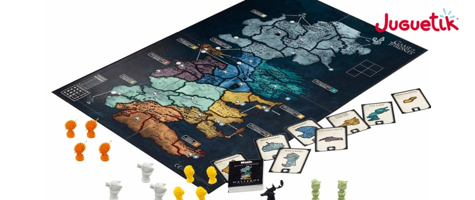 Tablero y Fichas Risk GOT
