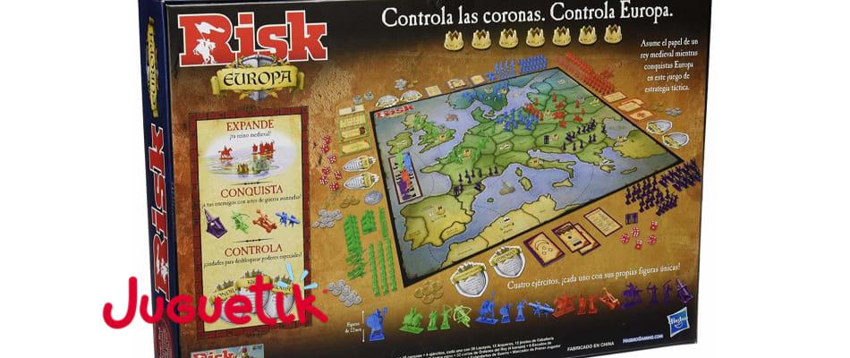 risk europa mapa