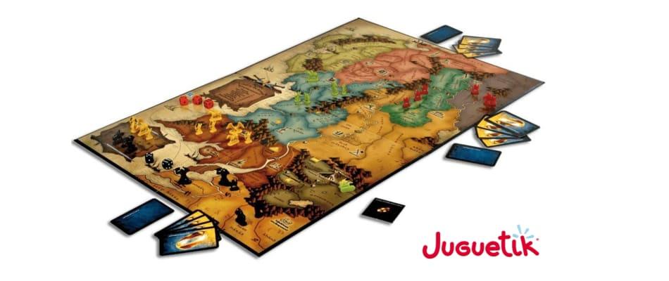 tablero Risk de Tierra Media