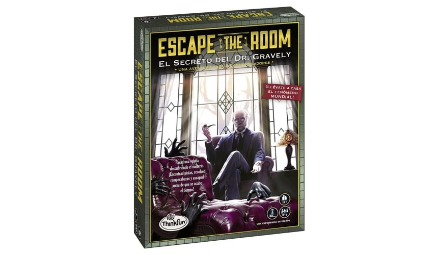 Escape The Room: Dr. Gravely, Juego de mesa