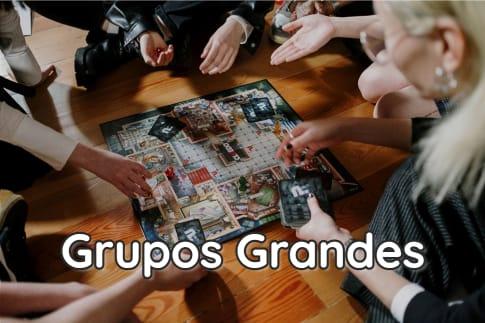 Juegos de Mesa para grupos grandes