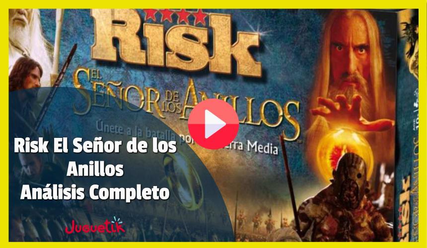 Risk El Señor de los Anillos Análisis Completo